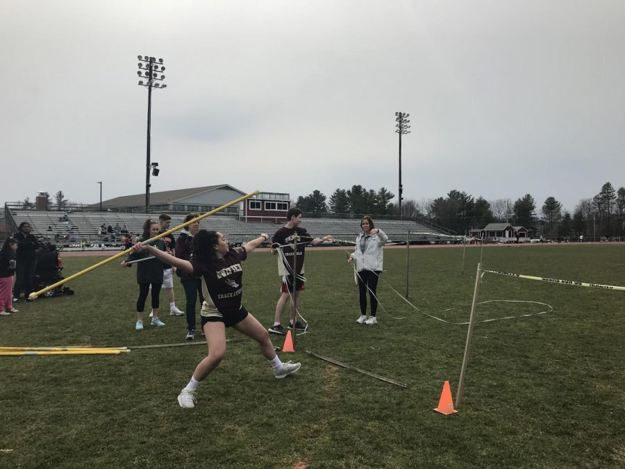 Unified track supports each other in meet against Marlborough
