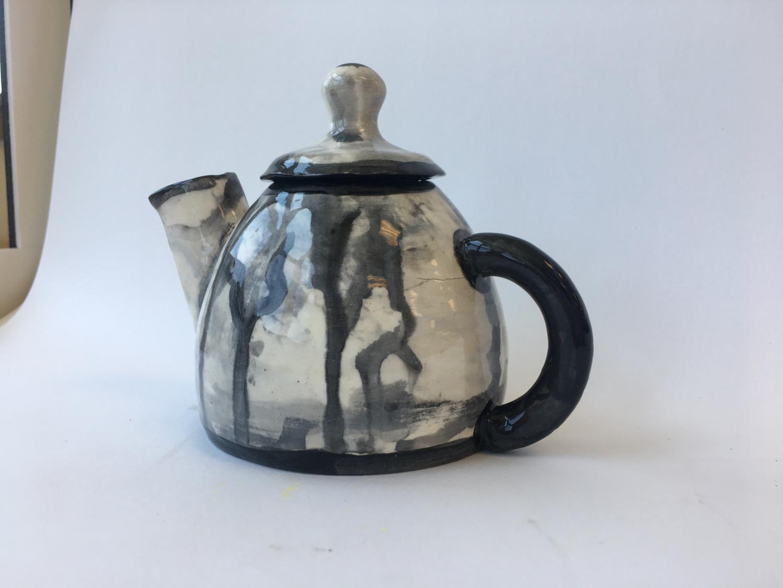 Junior Sarah Swartwout displays her creativity through ceramics.