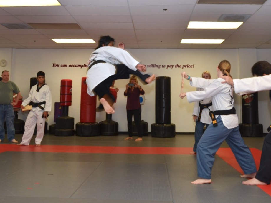 Sophomore Tejas Maraliga is a black belt in taekwondo and has been training since age four.