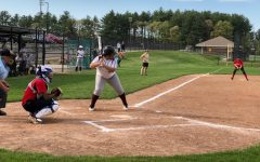 Girls' softball loses against Hudson but plays strong defense