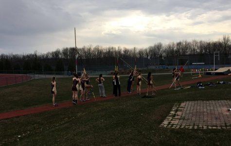 Girls' track clinches win in meet against Shrewsbury