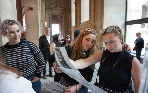 Algonquin students explore France on exchange trip