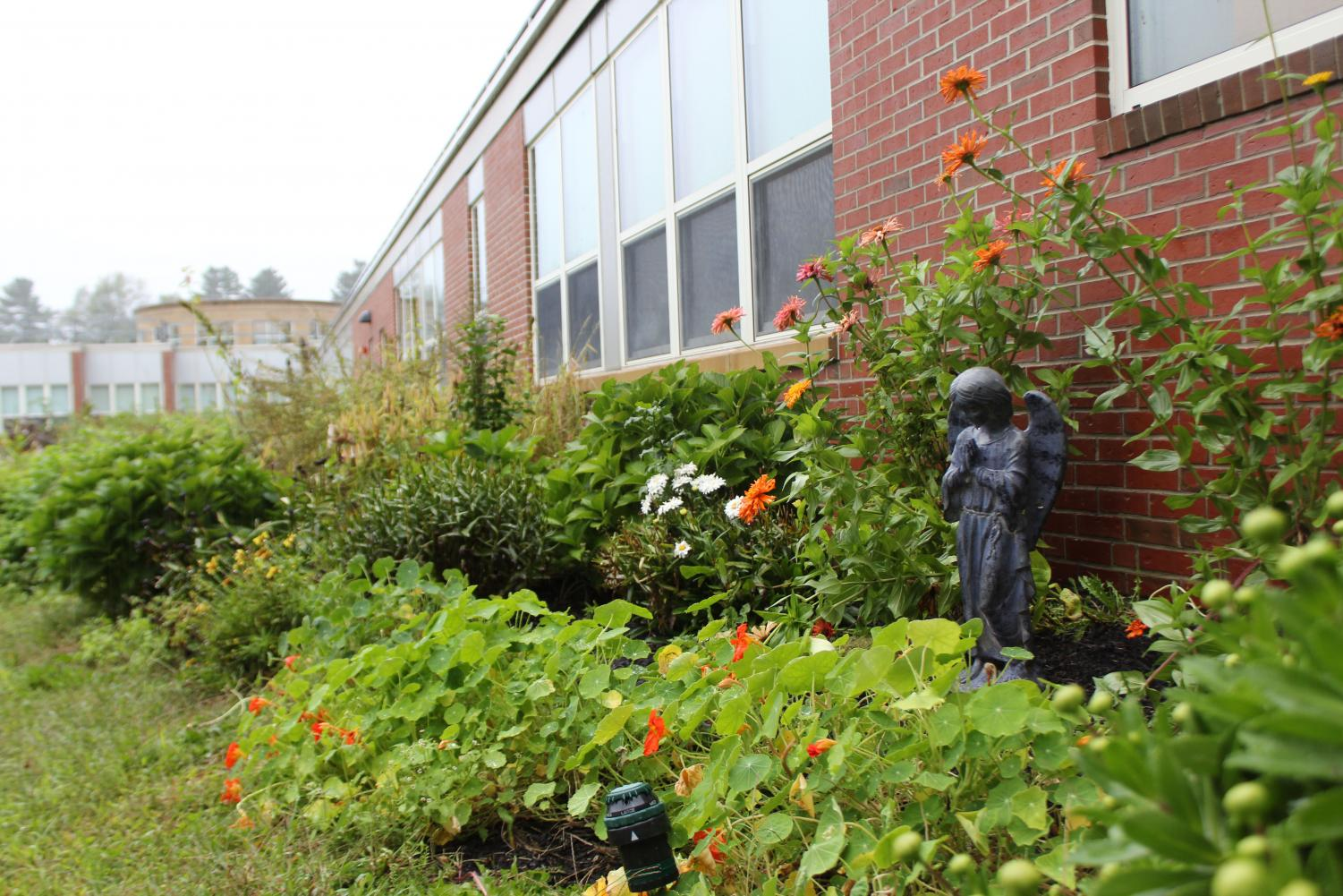 The garden provides a variety of benefits to the student body, among them a better understanding of nutrition.