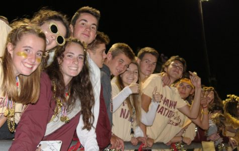 Ready, set, gold: Seniors celebrate final homecoming with friends, food, smiles