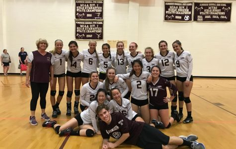 Girls' volleyball wins tight match in season home opener