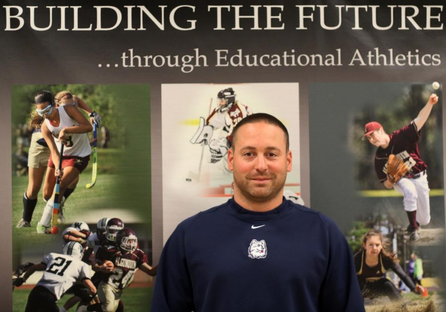 Having assumed the position of athletic director, Mike Mocerino looks to support and improve all athletic programs.