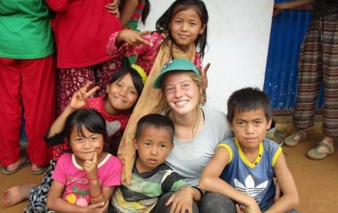 Parks spends summer in Nepal on service trip, will attend experiential school next semester