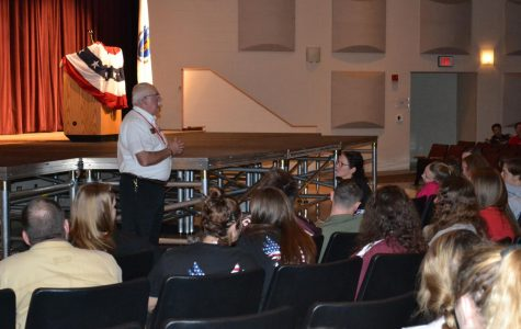 Veteran's Day assembly moves packed audience