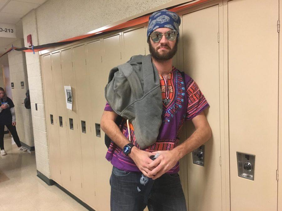 """I'm a hip hippy,"