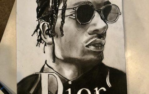 Hip hop inspires Sane's artwork