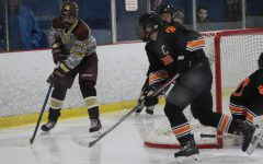 Boys' hockey skates into season with success in first round of Boro's Cup