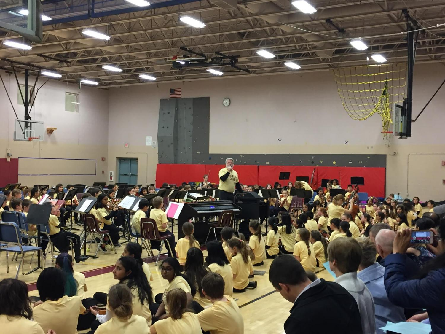 String-O-Rama gave string musicians from grades three to 12 the unique opportunity to perform together for an audience on January 15.
