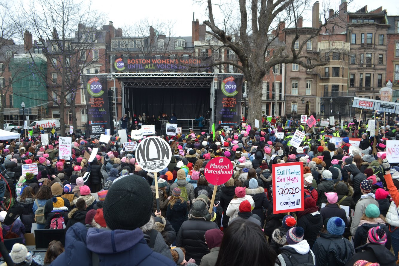 Floods of protesters around the country participated in the third annual Women's March on January 16.