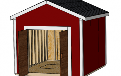 Mshooshian creates something out of nothing, designs shed for school