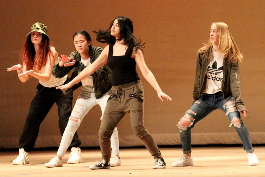 Algonquin dance group NRG performed a creative routine to Chris Browns Forever.
