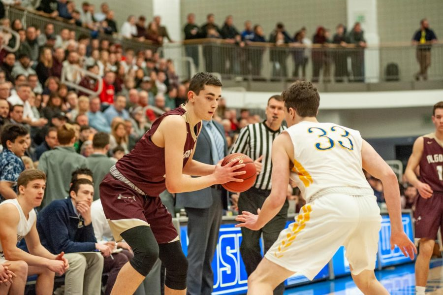 Freshman Alex Karaban was a stand-out player all season and the leading scorer at the CMass finals with 13 points.  Our goals for next year is, of course, to still win the district championship, Karaban said. We were so close for the last two years and hopefully third time's the charm.