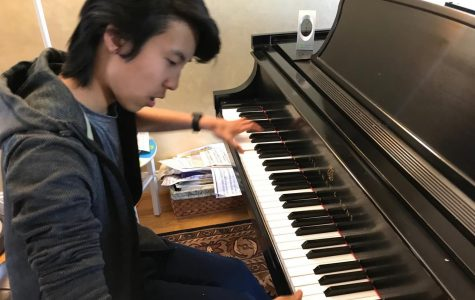 Through practice, passion freshman provides musical talents