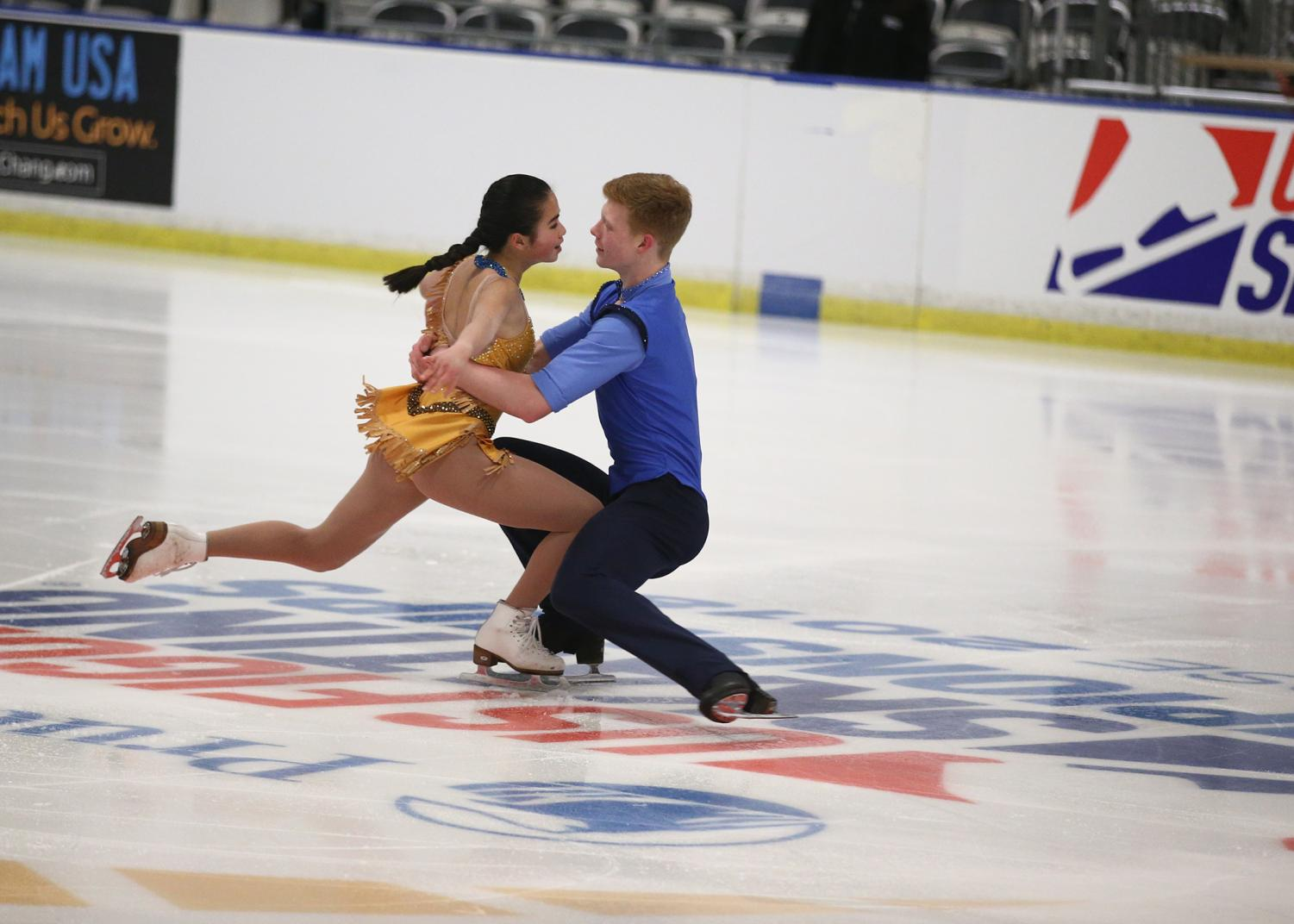 Sophomore Jade Hom competed in figure skating competitions at a national level and recently decided to end her career after her partner went to college and she experienced complicating injuries.