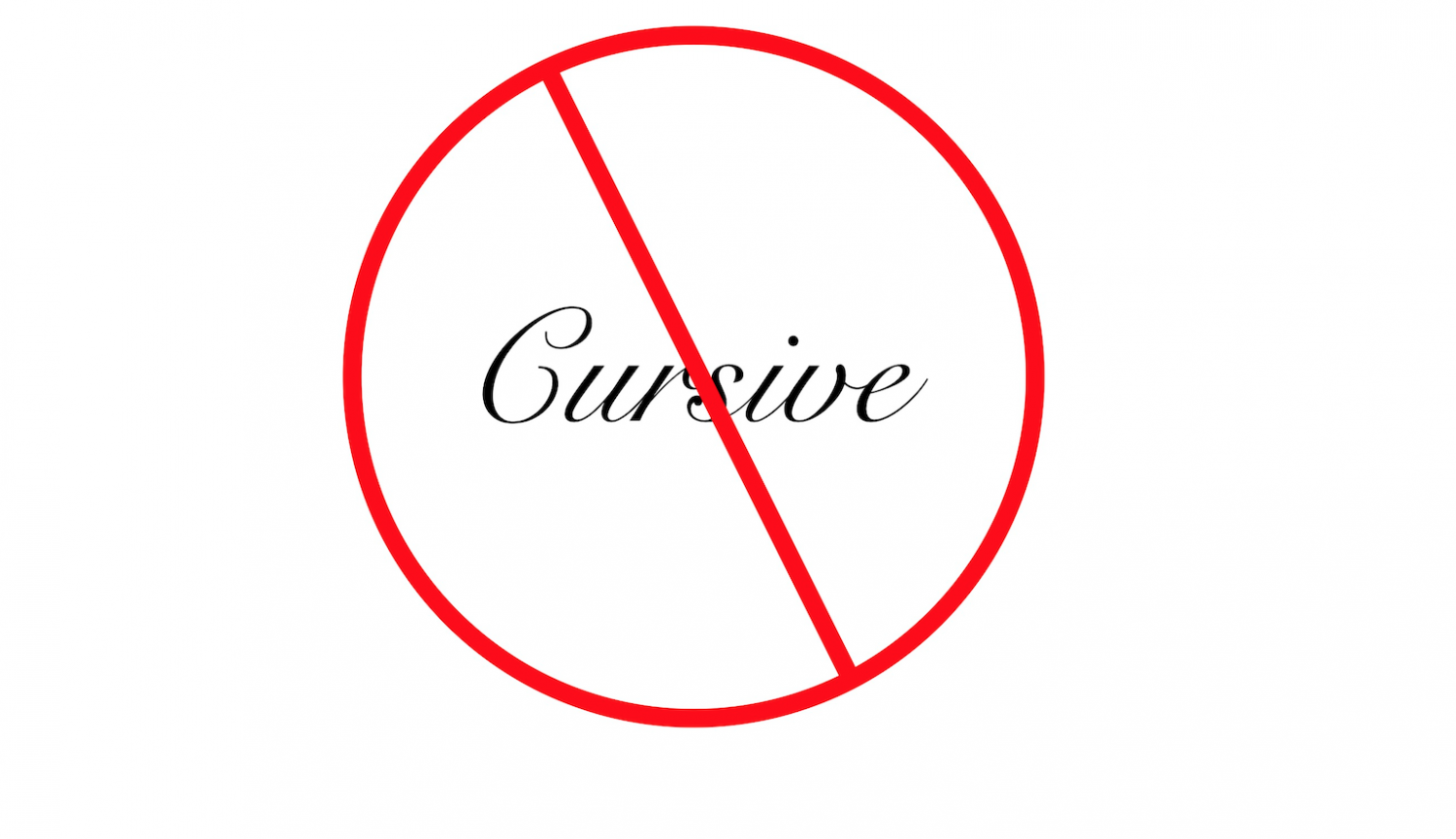 Staff Writer Owen Codere writes that teaching cursive is a waste of time.