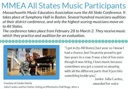 Student musicians perform at All-States