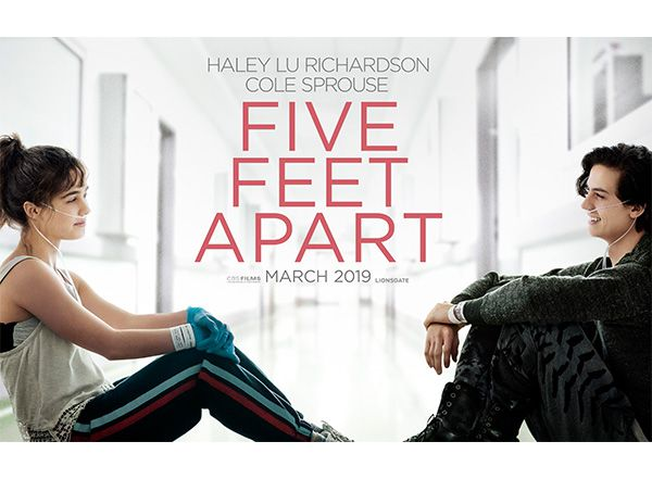 Five Feet Apart puts a twist on the classic romance movie, following the touching love story of two cystic fibrosis patients.
