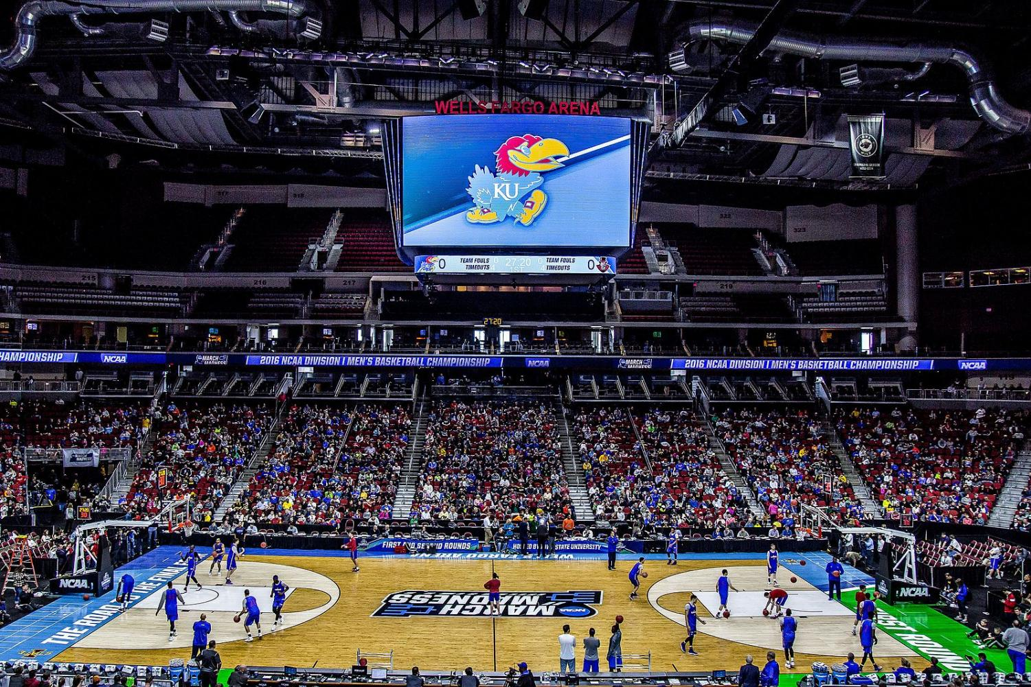 Staff writer Karthik Yalala that with the revenue events such as March Madness brings, NCAA athletes should get paid.