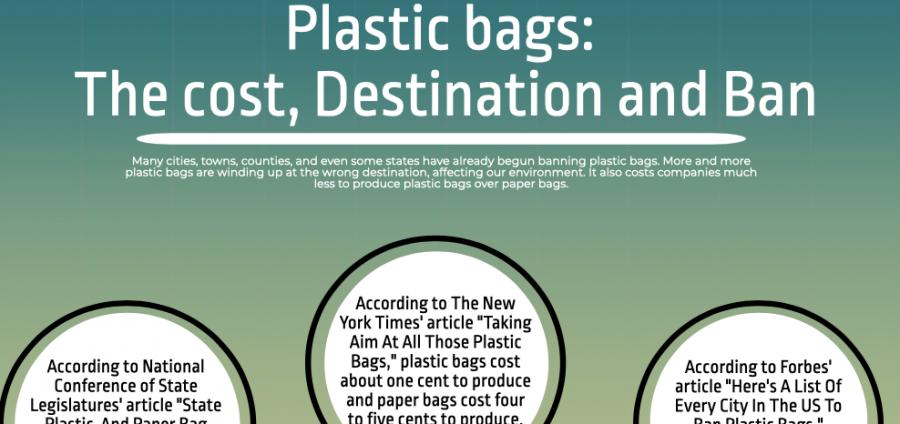 Plastic bags: The cost, destination, ban