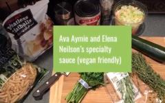 RECIPE: Vegan pasta and sauce
