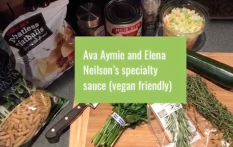 RECIPE: Vegan pasta and sauce