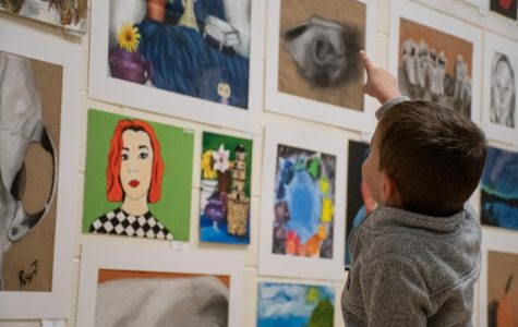 Art show honors, showcases students' achievements