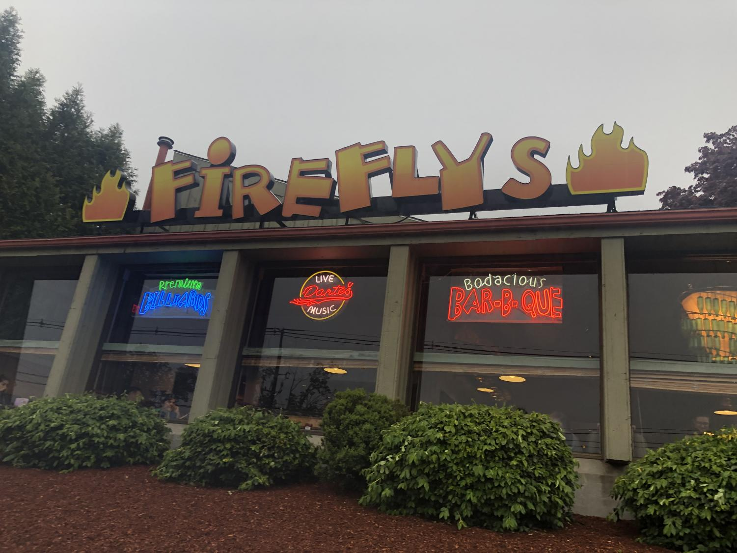 Assistant A&E editor Amy Sullivan felt that the positive atmosphere that surrounded Firefly's BBQ added a unique element to the already delicious food on the menu.