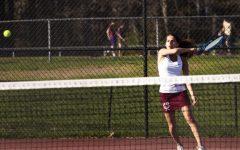 Girls' tennis falls short at States