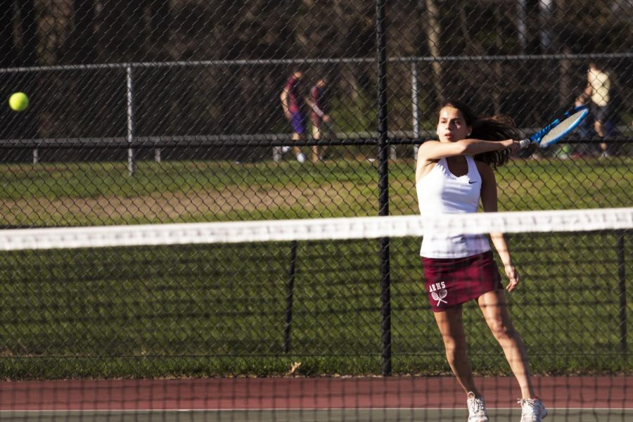Girls' tennis falls short at States