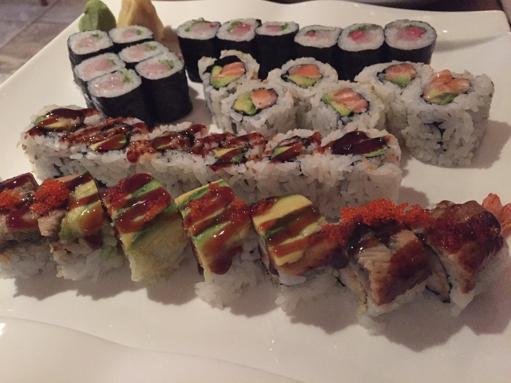 Staff writer Annie Nguyen writes that Yamato II, located in the Back Bay neighborhood of Boston, provides customers with an assortment of tasty all-you-can-eat sushi.