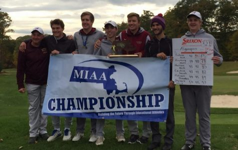 Boys' golf League Champs