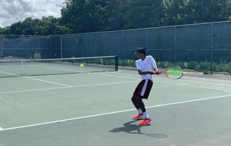 Boys' tennis loses in state title match against Brookline