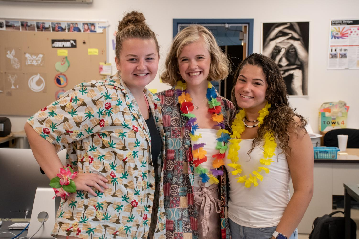 %5BFrom+left+to+right%5D+seniors+Madelyn+Kostiw%2C+Elizabeth+Webb+and+Emily+Pinho+dressed+up+for+beach+day.+%22It+adds+a+fun+theme+to+a+basic+day%2C+and+it%27s+fun+to+dress+up+with+everyone+else+and+add+school+spirit%2C%22+Kostiw+said.