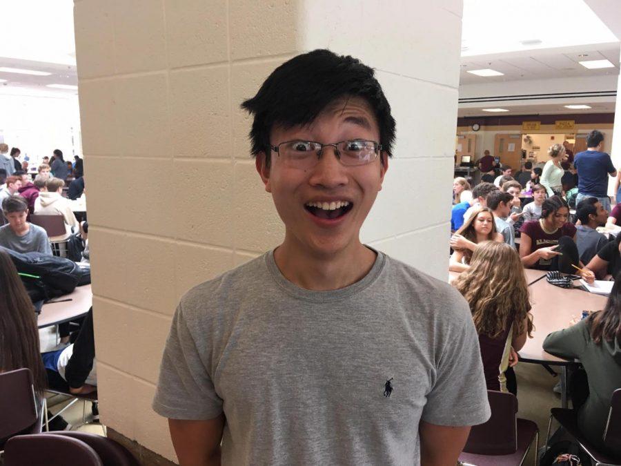 Senior Thursday: Joe Zhang