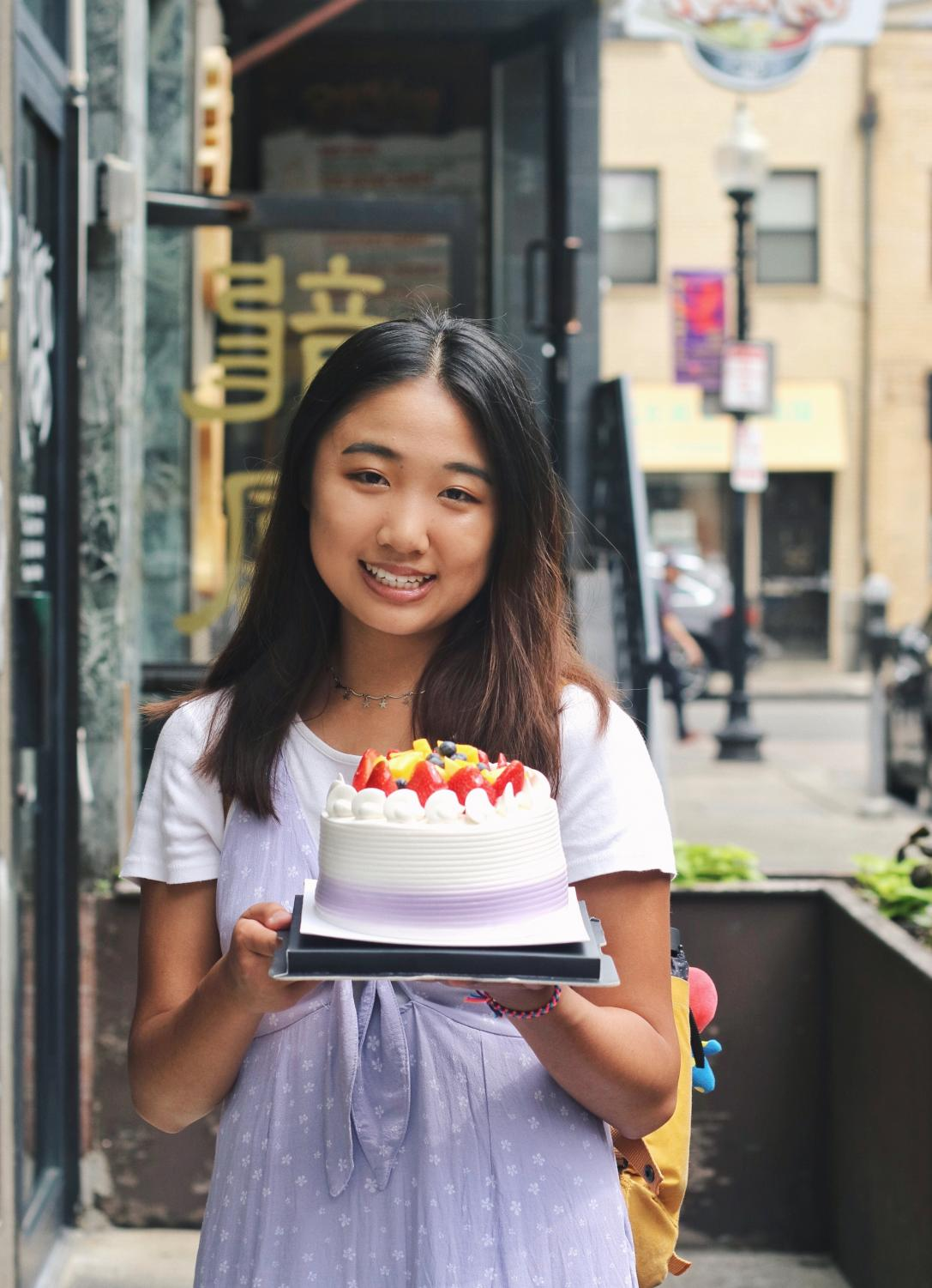 Sophomore Brianna Tang started the Instagram account @toomanybites in 2018.  Since starting the account she has accumulated over 3,000 followers and invites to many local restaurants and other food events.