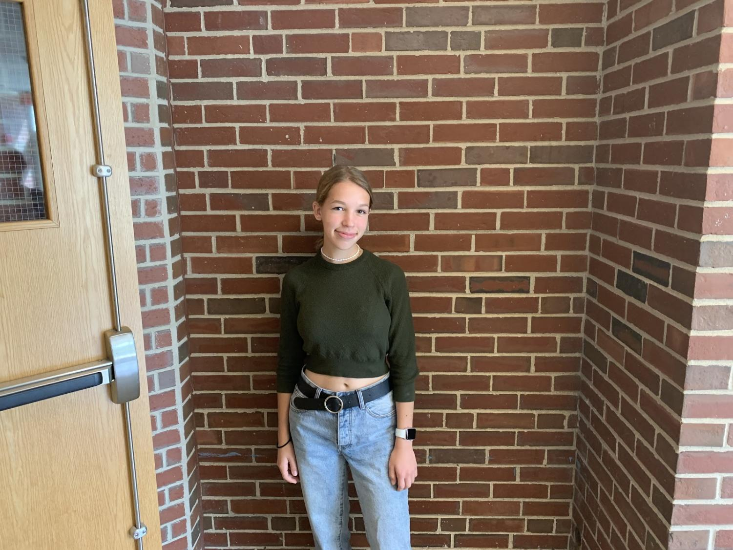 Senior Karmyn Shreeve has been making music since she was little.  She has recently started uploading her songs to Soundcloud.