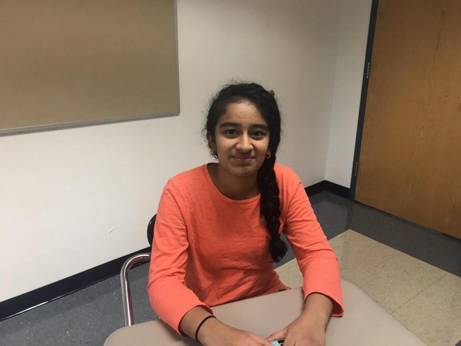 Sophomore Tuesday: Sherya Gouda