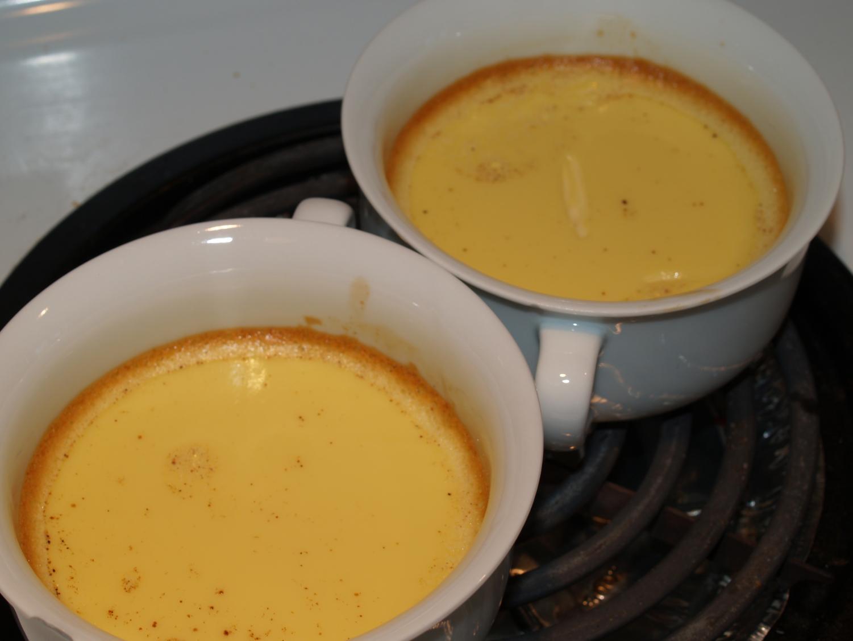 English teacher Sara Stein's recipe for custard sauce.