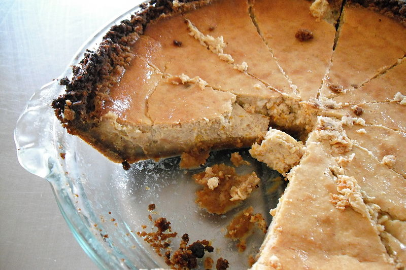 Christina+Smith%27s+recipe+for+pumpkin+cheesecake.