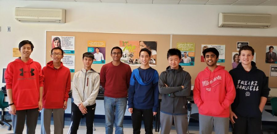 The Programming club recently placed 64th out of 5000 teams in the annual PicoCTF hackathon.