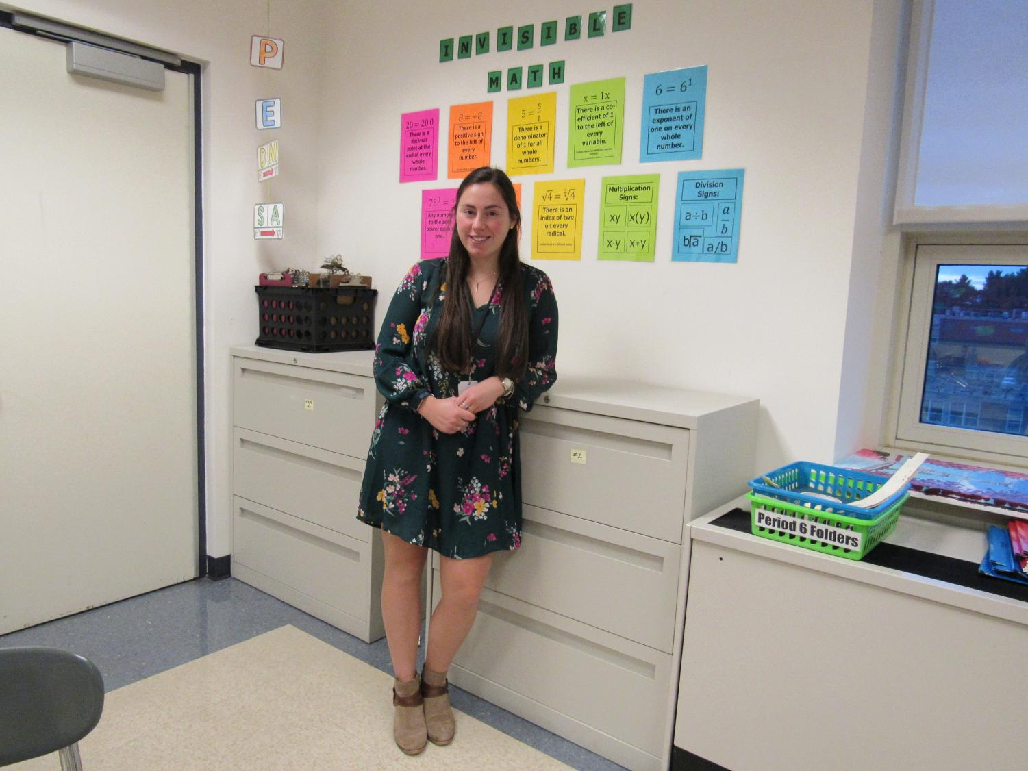 New math teacher Colleen Barry hopes to bring a fresh perspective to teaching.