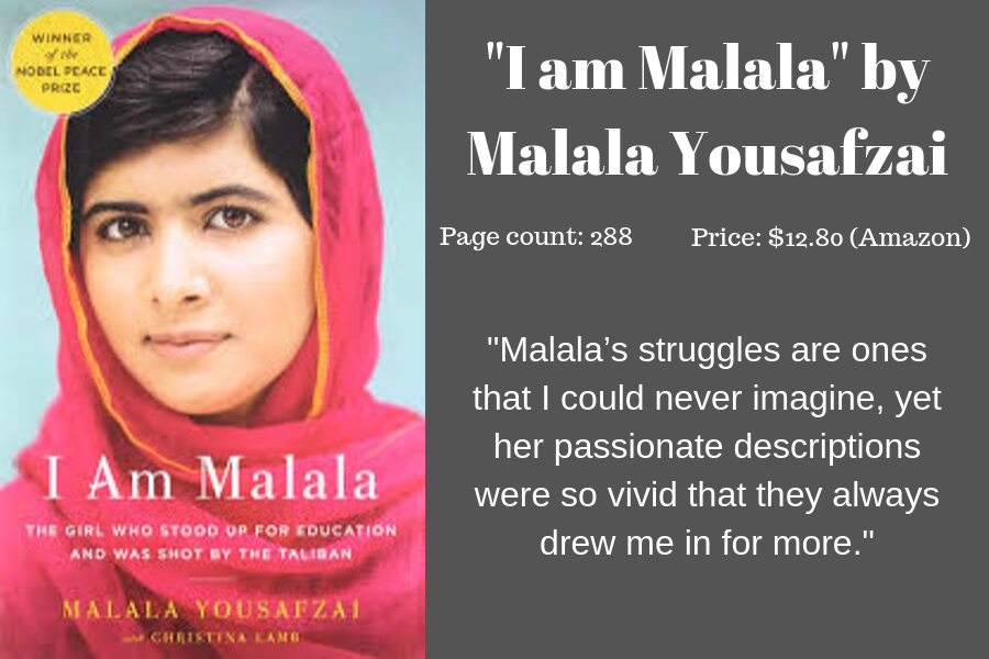 Staff+writer+Emma+Moore+writes+that+%22I+am+Malala%2C%22+a+memoir+by+Malala+Yousafzai+taught+her+about+the+struggles+of+women+in+Pakistan+as+well+as+inspired+her+to+learn+more.