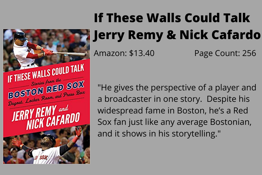 Staff+Writer+Andrew+Roberts+writes+that+%22If+These+Walls+Could+Talk%22+by+former+Red+Sox+second+basemen+and+broadcaster+Jerry+Remy+gives+readers+a+taste+of+what+it+is+like+to+be+a+member+of+the+Red+Sox+organization.+