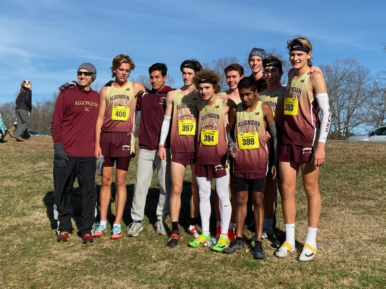 For the first time in school history, boys' cross country won the CMASS title.