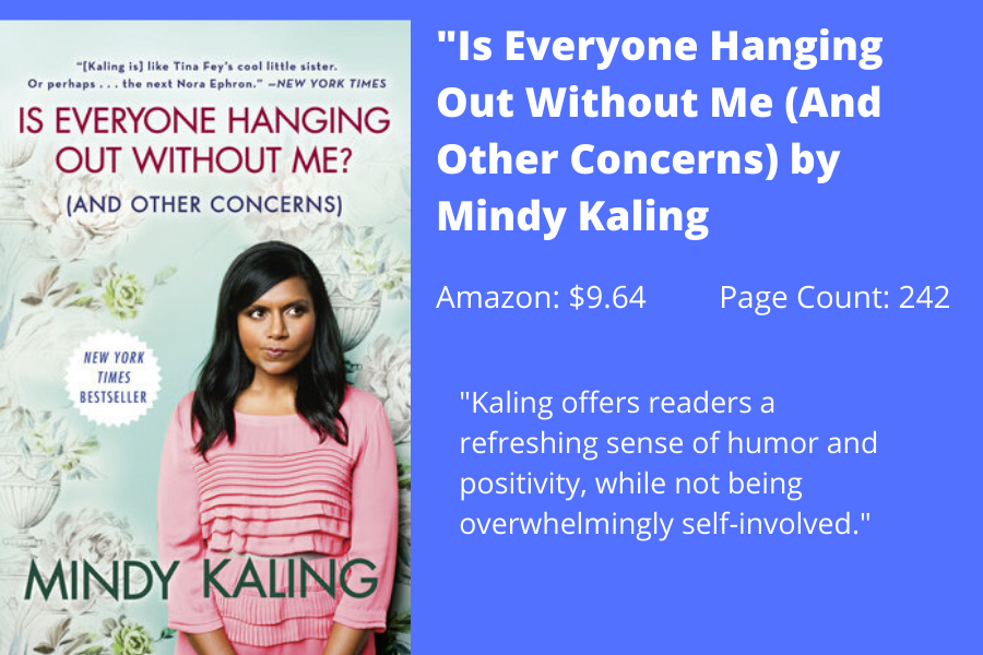 Staff Writer Jula Utzschneider writes that Mindy Kaling's book portrays her in a humbling light.