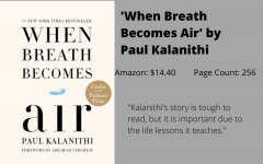 REVIEW: Kalanthi inspires readers with 'When Breath Becomes Air'